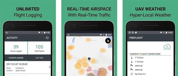 app Android per i droni