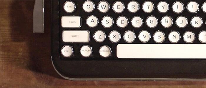Penna tastiera Bluetooth retrò