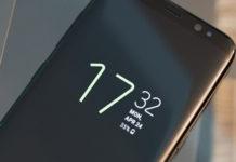 Samsung Galaxy S8 Always ON Display