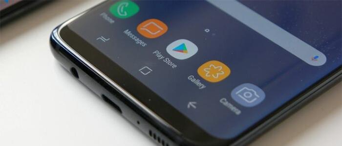 Samsung Galaxy S8 Iris Scanner