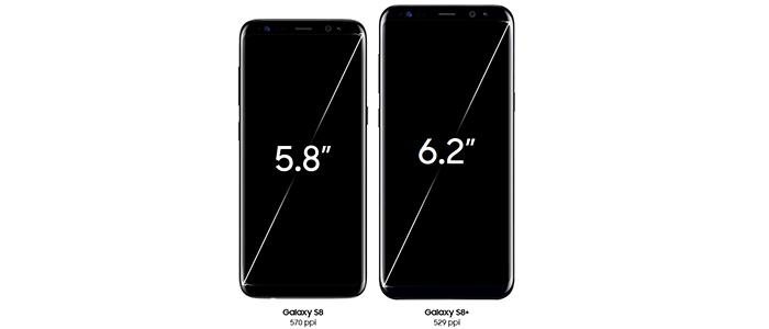 Samsung Galaxy S8 ed S8+ 8 caratteristiche