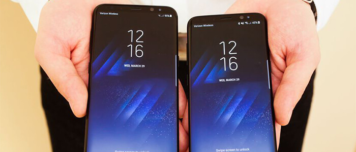 Samsung Galaxy S8 ed S8+ DisplayMate