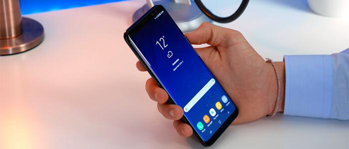 Samsung Galaxy S8 backup iPhone