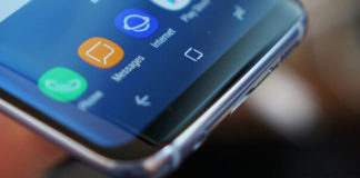 Samsung Galaxy S8 pulsanti software