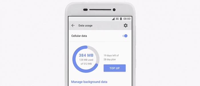 Gli smartphone low-cost potranno ottimizzare il monitoraggio consumi dati.