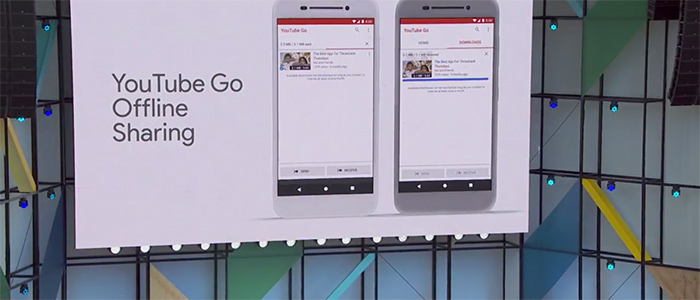 "Android Go introduce la funzione ""YouTube Go Offline Sharing"""