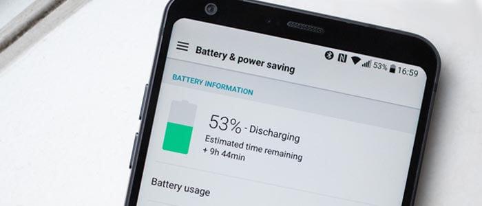 La batteria di LG G6 può essere ottimizzata.