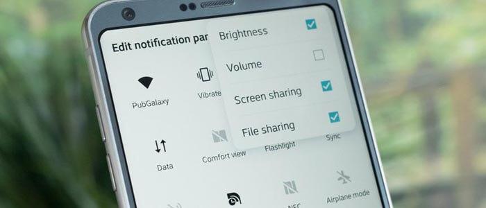 Connettività su LG G6, dal WiFi al Bluetooth.