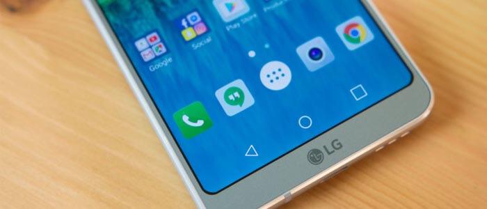 LG G6 ed Android Nougat 7.0.