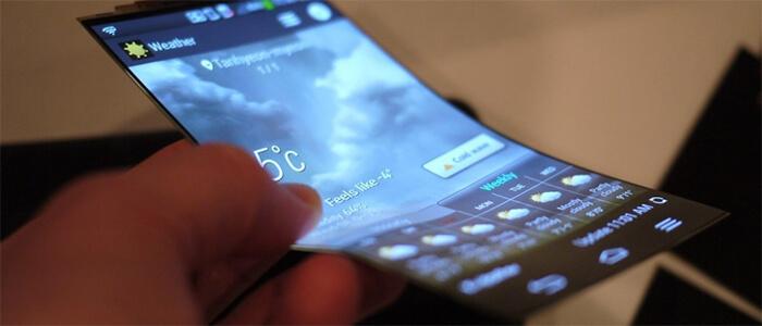 LG smartphone display OLED