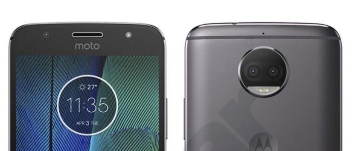 Lenovo Moto G5S Plus render