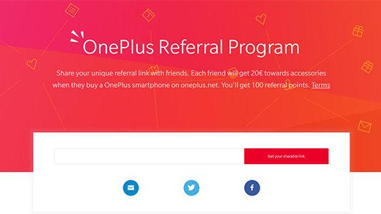 OnePlus programma di affiliazione