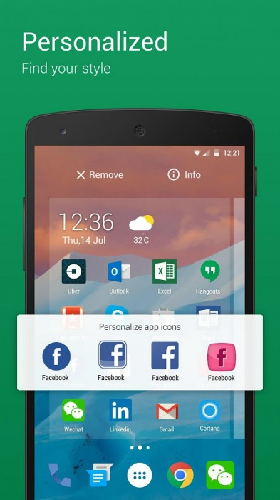 Samsung Galaxy S8 5 launcher alternativi