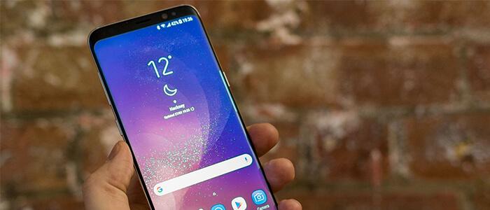 Samsung Galaxy S8 densità schermo