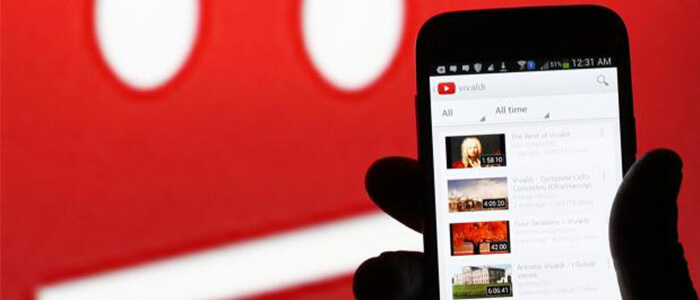 YouTube app Android nuovo update