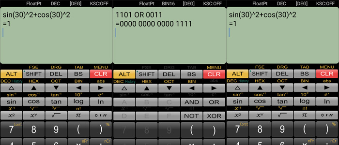 calcolatrice Android