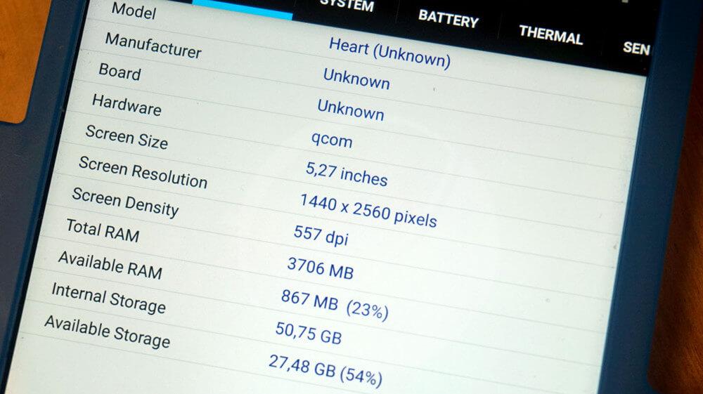 Benchmark del Nokia 9