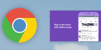 Google Chrome picture-in-picture video