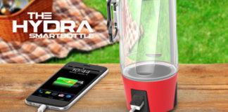 Hydra smartbottle Indiegogo