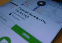 disabilitare app servizi smartphone Samsung