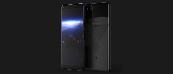 Google Pixel XL 2017 render