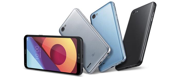 LG Q6, Q6+ e Q6a