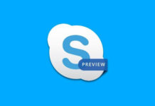 Skype Preview update Android