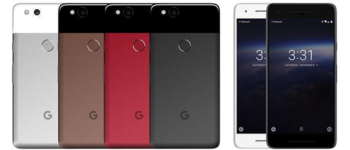 Google Pixel 2 render HD