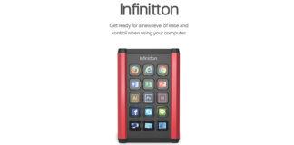 Infinitton tastiera Kickstarter
