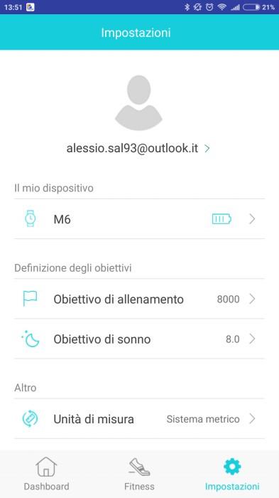 LYNWO M6 app companion