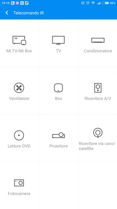 Mi Max 2 app Telecomando