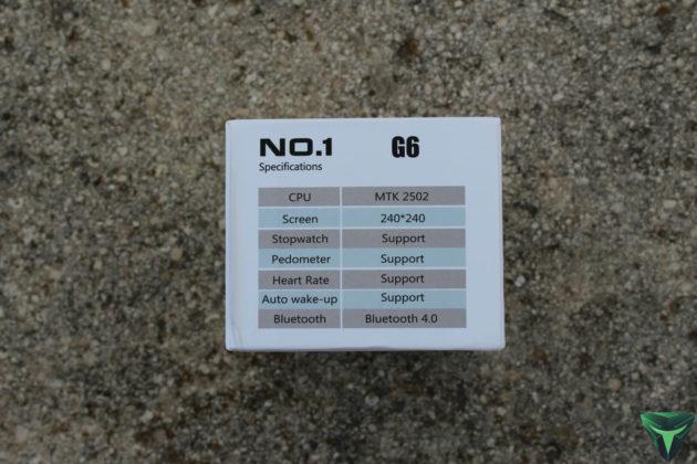 No.1 G6 recensione