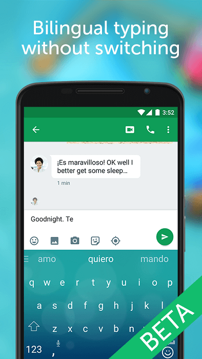 SwiftKey Beta Android nuovo update
