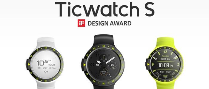 Ticwatch Sport e Ticwatch Express Kickstarter