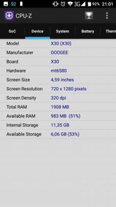 X30 CPU-Z