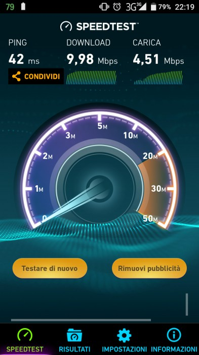 X30 Speedtest 3G
