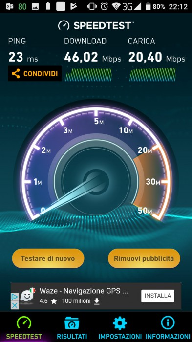 X30 Speedtest Wi-Fi