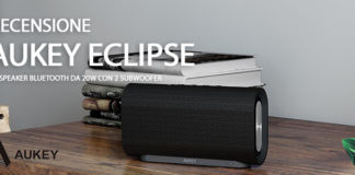 Aukey Eclipse speaker Bluetooth recensione