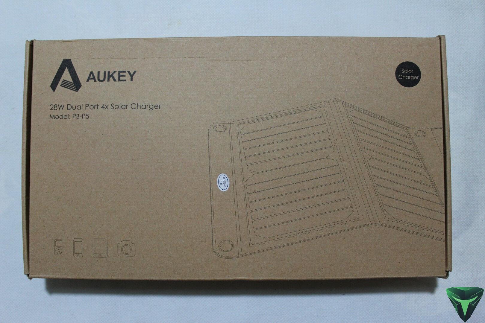 Aukey Pannello Solare PB-P5 recensione