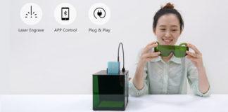 Cubiio incisore laser Kickstarter