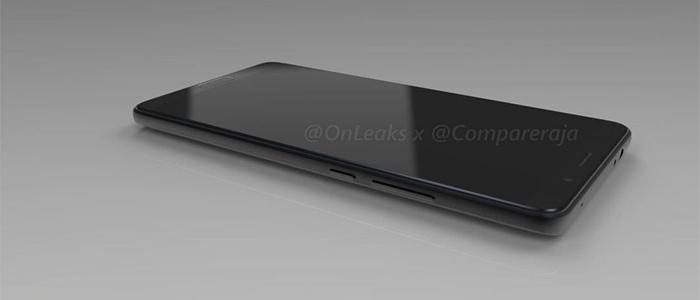 Huawei Mate 10 render OnLeaks