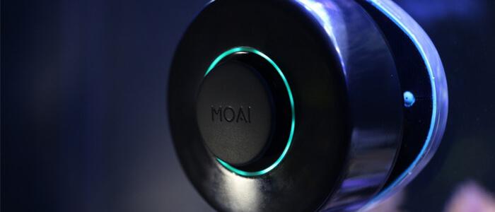 MOAI robot acquario Kickstarter
