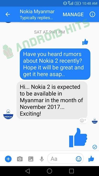 Nokia 2 novembre