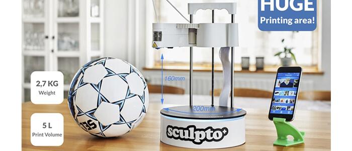 Sculpto+ stampante 3D Kickstarter