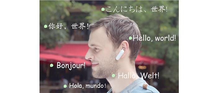 WT2 Translator auricolari traduttori