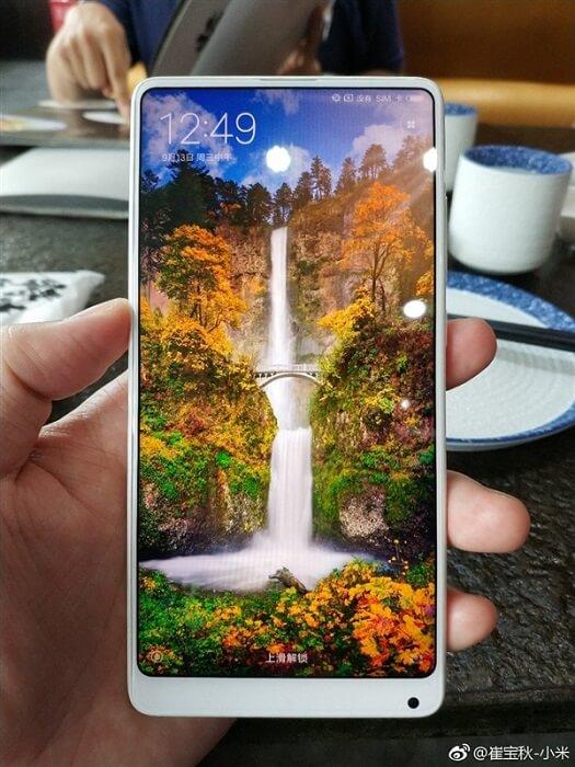 Xiaomi Mi MIX 2 White Ceramic Edition