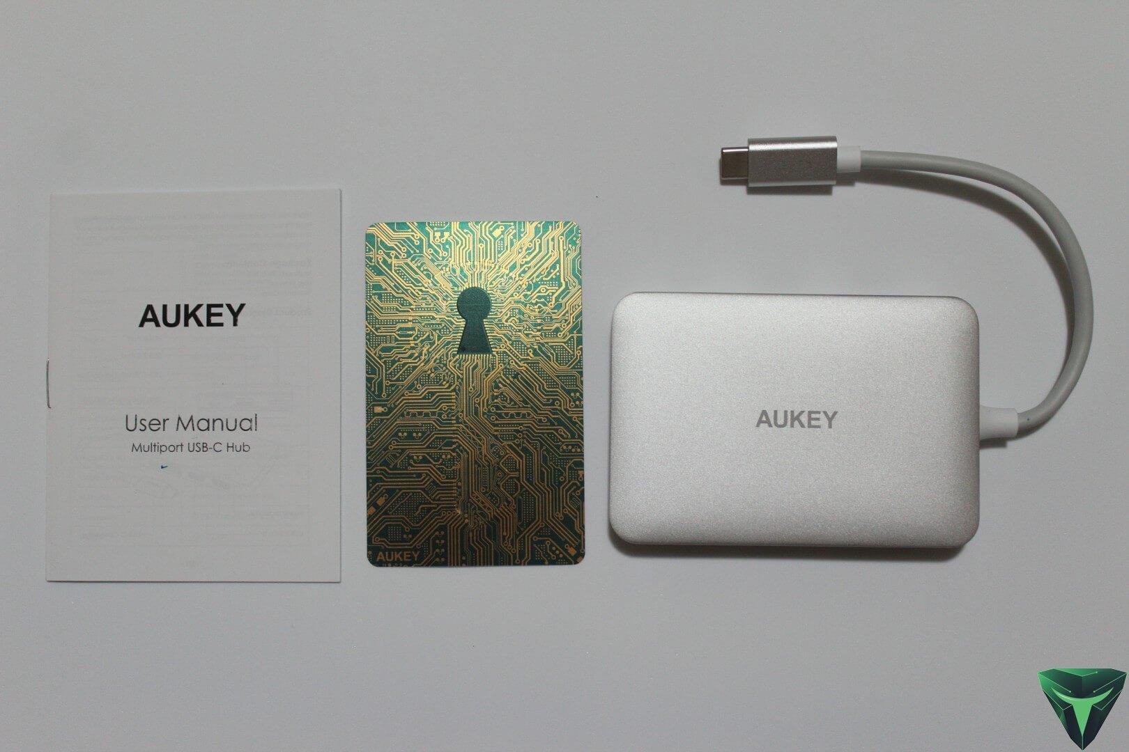 Aukey Hub USB Type-C recensione