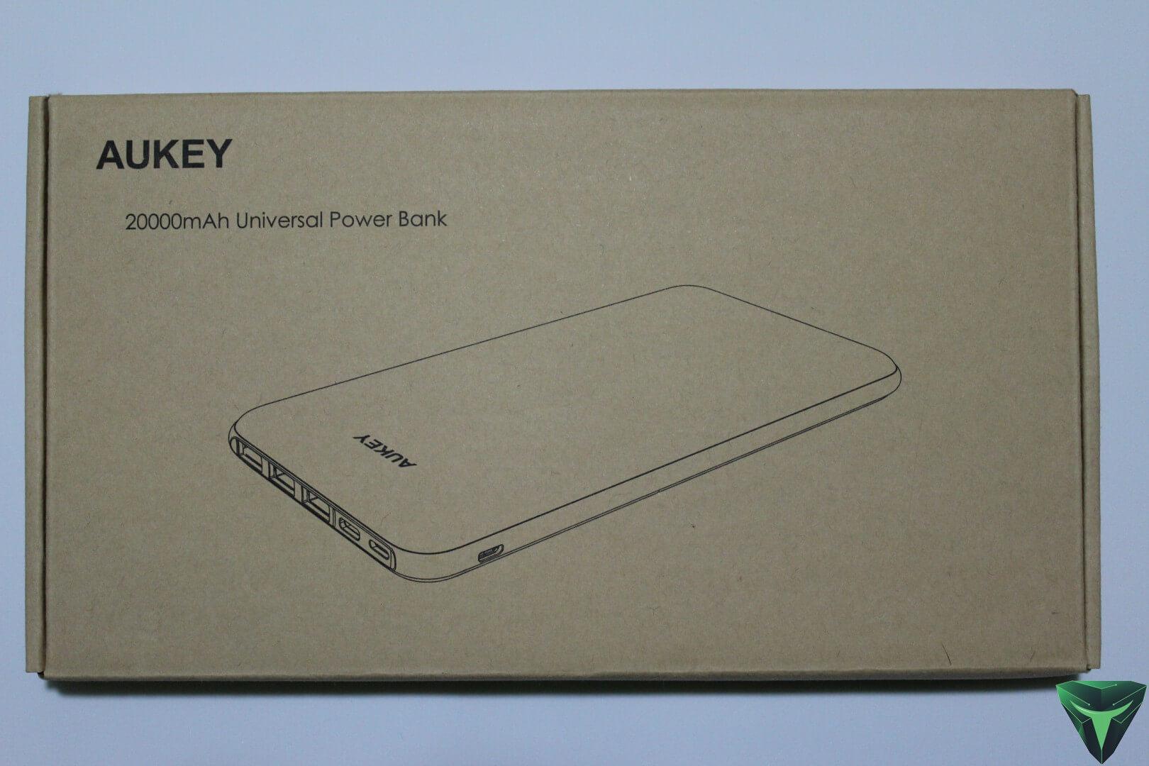 Aukey Powerbank PB-Y14 20.000 mAh recensione