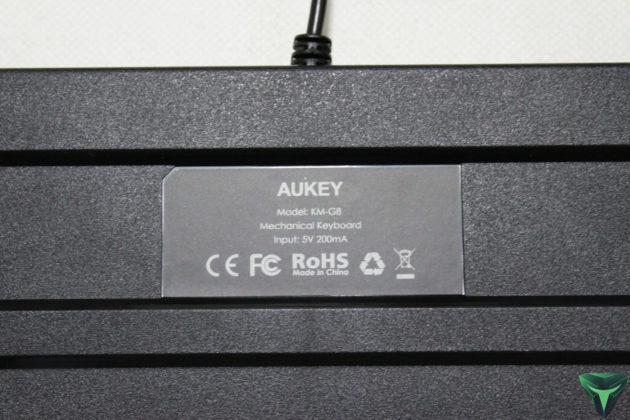 Aukey Tastiera meccanica KM-G8 recensione