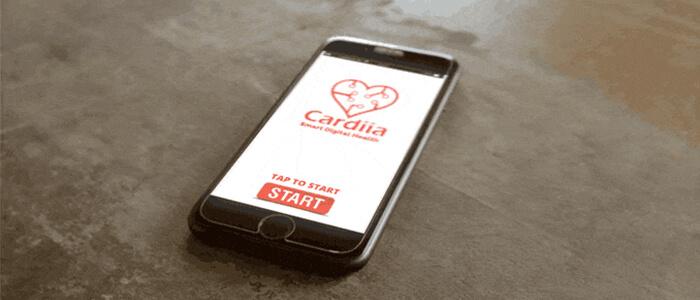 Cardiia app Kickstarter